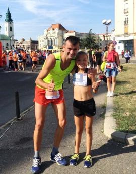 Kamilla, o nouă tânără speranță în atletismul bihorean