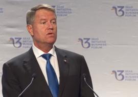 Summitul celor Trei Mări, la București. Iohannis: 'România are potenţialul de a fi o platformă energetică regională'