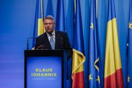 Klaus Iohannis promovează educaţia, sănătatea şi bunăstarea economică