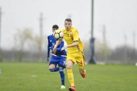 Tânărul fotbalist orădean Luca Popa susţine probe de joc în Italia, la Atalanta Bergamo
