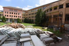Şantier la Universitatea din Oradea: 12 proiecte de investiţii în campus (FOTO)