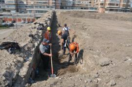 Bastioanele care flanchează intrarea în Cetatea din Oradea au intrat în lucrări de reabilitare (FOTO)