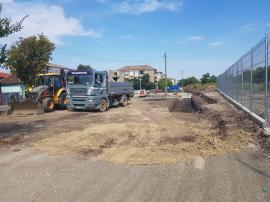 Zonă verde şi teren de sport lângă podul Teodor Neş (FOTO / VIDEO)