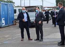 Ce spune premierul Ludovic Orban, aflat la Oradea, despre finanţarea viitorului stadion al oraşului. Vezi VIDEO!