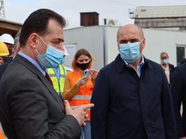 Premierul Ludovic Orban și-a început vizita în Bihor la noua Sală Polivalentă din Oradea (FOTO / VIDEO)