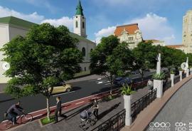 Proiectul modificat al malului Crişului Repede prevede copaci mari crescând din trotuar. Vezi cum va arăta! (FOTO / VIDEO)