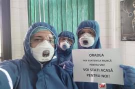 'Cei curajoşi înfruntă greutăţile': Primarul Ilie Bolojan, mesaj de mulţumire pentru medicii şi asistentele care se află în 'linia întâi' în Oradea (FOTO)
