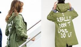 Melania Trump, gafă imensă. Cum s-a îmbrăcat soţia preşedintelui SUA când s-a dus să viziteze copiii unor imigranţi, care fuseseră separaţi de părinţi