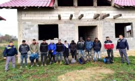 11 cetăţeni străni, prinşi în Giriș, în timp ce voiau să fugă ilegal în Ungaria