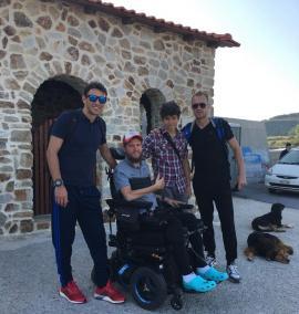 Mihai Neşu s-a dus la Muntele Athos cu George Ogăraru şi grecul Pantelis Kapetanos