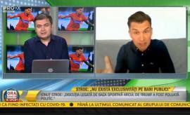 Prins fără pantaloni: Ministrul Sportului a dat interviu în... chiloți! (VIDEO)