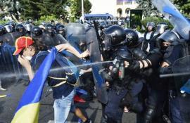 Jandarmeria vede în mitingul Diasporei... tentativă de lovitură de stat