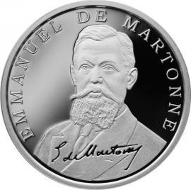 BNR lansează o monedă în cinstea lui Emmanuel de Martonne, francezul care a trasat graniţele României Mari