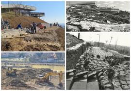 Au început lucrările la Dealul Ciuperca! Mai bine de 4 ani de la alunecările de teren care l-au distrus (FOTO / VIDEO)