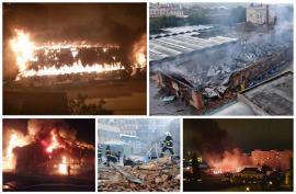 Bihorel: 13 suspecţi de incendierea Halei Vechi de la Piaţa Mare