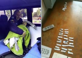 """""""Capturile"""" Jandarmeriei într-o singură zi, pe străzile din Oradea: un pui de lebădă rătăcit şi 34 de """"joint-uri"""" (FOTO)"""