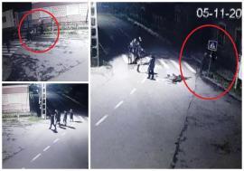 Prinşi pe camere: Şase adolescenţi din Bihor cu dosare penale, după ce au distrus 16 indicatoare rutiere (FOTO / VIDEO)