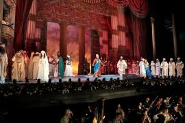 Opera 'Nabucco', pe scena Teatrului Regina Maria