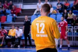 Portarul echipei CSM Oradea, Cristian Niculai, din nou la lotul naţional de tineret
