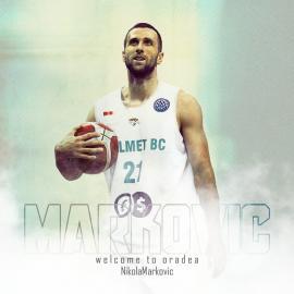 CSM CSU Oradea are pivot nou: Nikola Markovic soseşte din campionatul Poloniei la baschet (VIDEO)