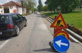 Primăria restricţionează traficul auto pe trei străzi orădene pentru lucrări de modernizare