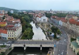 Orașul văzut de sus