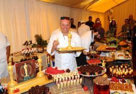 Premiile Oscar: 13 kilograme de aur comestibil, în deserturile vedetelor