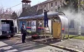 Comunicat de presă privind continuarea dezinfectării stațiilor de autobuz și de tramvaie din oraș (VIDEO)