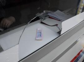 OTL: Furt din chioşcul de bilete