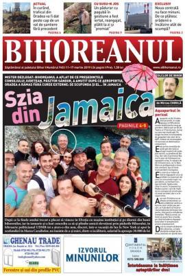 Nu rataţi noul BIHOREANUL tipărit: Cum munceşte preşedintele CJ? De la vânători în Elveţia pe banii bihorenilor la scufundări în Jamaica