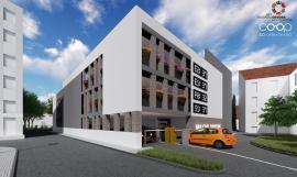 Parcare cu Vulcan: Amenajarea unei parcări supraetajate în centrul Oradiei s-a oprit într-o locuinţă a fraților Micula