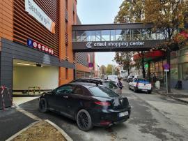 Luni se deschide parcarea supraetajată de pe strada Braşovului. Primele 90 de zile sunt gratuite