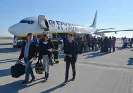 Au fost călători! Aeroportul Oradea a fost tranzitat de 220.000 de pasageri în 2018
