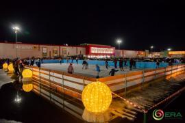 Sărbători mai frumoase, la patinoarul de la ERA Park Oradea! (FOTO)