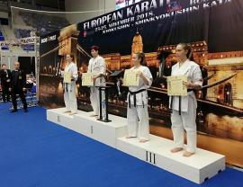 Orădeanca Patricia Farcaş a devenit campioană europeană, la întrecerile de karate kyokusin de la Budapesta