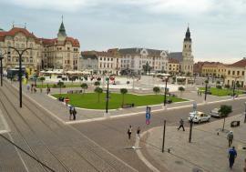 Vânătoare de comori în Piaţa Unirii din Oradea