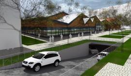 Centru de afaceri cu parcare subterană de 150 locuri, pe amplasamentul Pieţei Cetate din Oradea. Vezi cum va arăta! (FOTO)