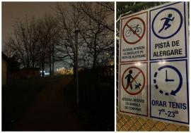 Stimulent pentru jogging: Ce-i pune mai tare pe fugă pe orădenii care folosesc pista de alergare de lângă Arena Antonio Alexe (FOTO)