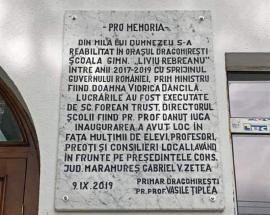 Numele Vioricăi Dăncilă, pus pe o școală reabilitată din bani publici