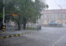 Cod galben de furtuni, inclusiv în Oradea!