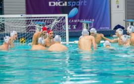 Polo: CSM Oradea a câştigat cu 12-7 prima dispută cu Dinamo
