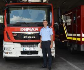 Erou şi în timpul liber: Un pompier bihorean şi-a salvat o vecină căzută în fântână