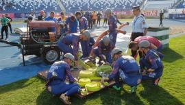 Pompierii bihoreni, vicecampioni naţionali la acţionarea în situaţii de urgenţă