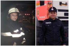 Salvatori apreciaţi: Cinci pompieri bihoreni, recompensaţi de şefii lor pentru vieţile salvate în 2019