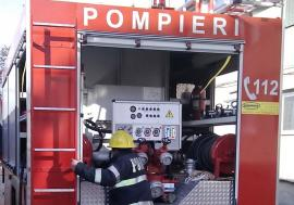 Incendiu la o sucursală Banca Românească din Oradea