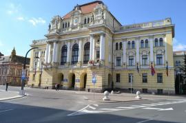 Măsuri anti-virus: Primăria Oradea restricţionează o parte din activitatea cu publicul şi interzice accesul la restaurantul de la subsolul clădirii