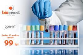 Bioinvest vine cu o ofertă specială la analize de laborator!