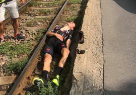 Unul dintre cei mai buni ciclişti români a fost izbit de o maşină în Oradea: Raul Sînza este la spital!