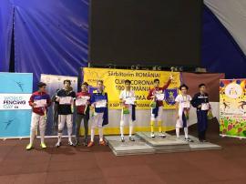 Şapte clasări pe podium pentru spadasinii de la LPS Bihorul la Cupa 'Corona' de la Braşov (FOTO)