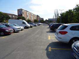 Pardoseala parcării de la Spitalul Municipal a fost înlocuită pe cheltuiala constructorului (FOTO)